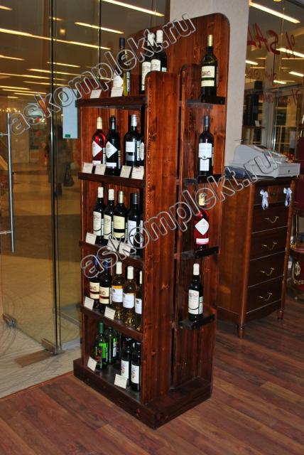 #Стеллаж для винных бутылок