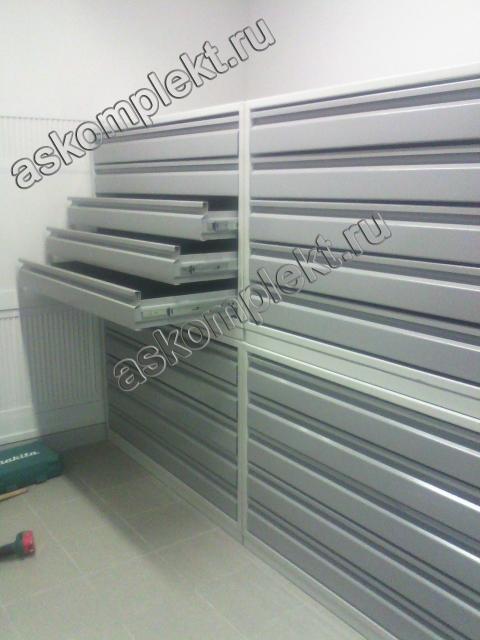 Шкафы драйверного типа, для фондов металлические Сота-МД