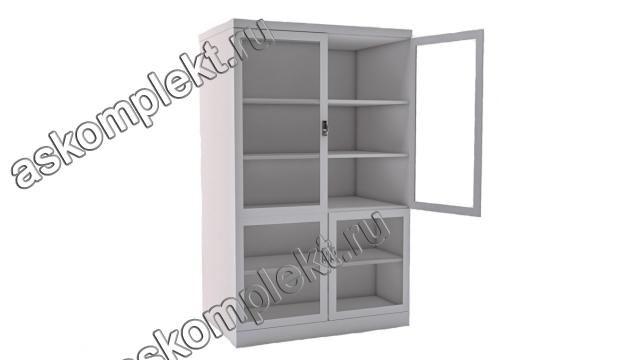 металлические шкафы с застекленными вставками