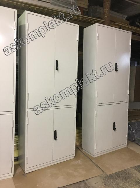 металлические шкафы с ригельными замками